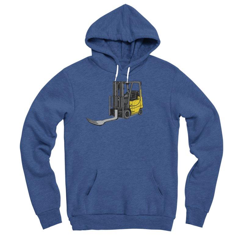 Forklift Men's Sponge Fleece Pullover Hoody by 9th Mountain Threads