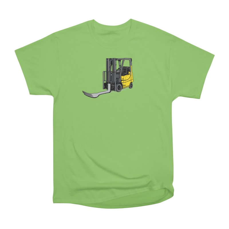 Forklift Men's Heavyweight T-Shirt by 9th Mountain Threads