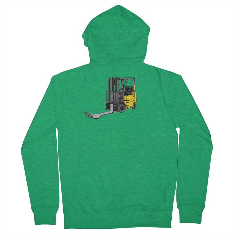 Forklift Women's French Terry Zip-Up Hoody by 9th Mountain Threads