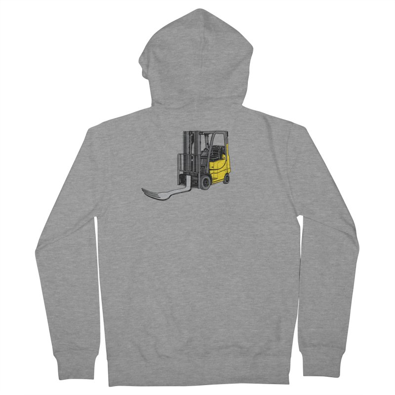 Forklift Men's French Terry Zip-Up Hoody by 9th Mountain Threads