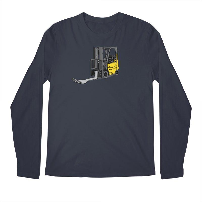Forklift Men's Regular Longsleeve T-Shirt by 9th Mountain Threads