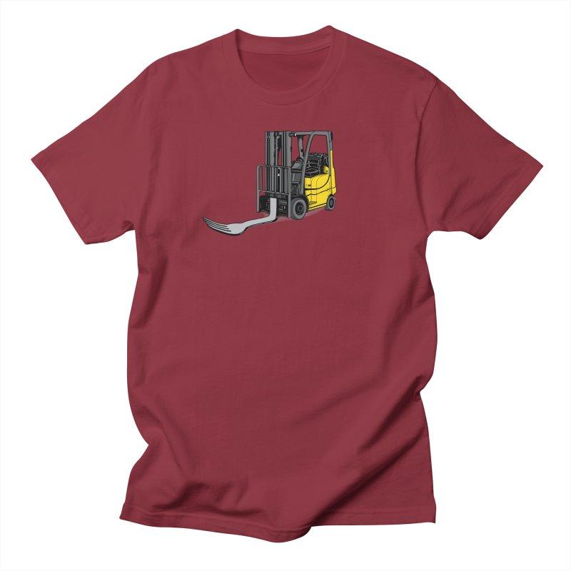 Forklift Men's Regular T-Shirt by 9th Mountain Threads
