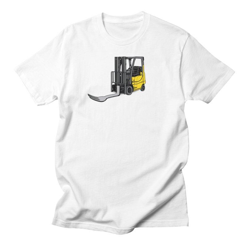 Forklift Women's Regular Unisex T-Shirt by 9th Mountain Threads