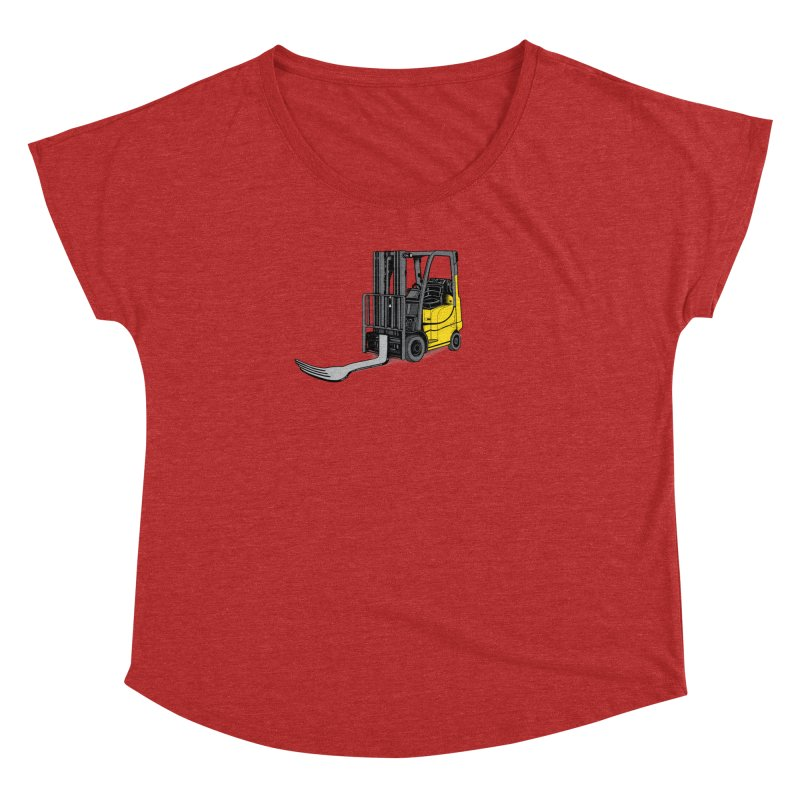 Forklift Women's Dolman Scoop Neck by 9th Mountain Threads