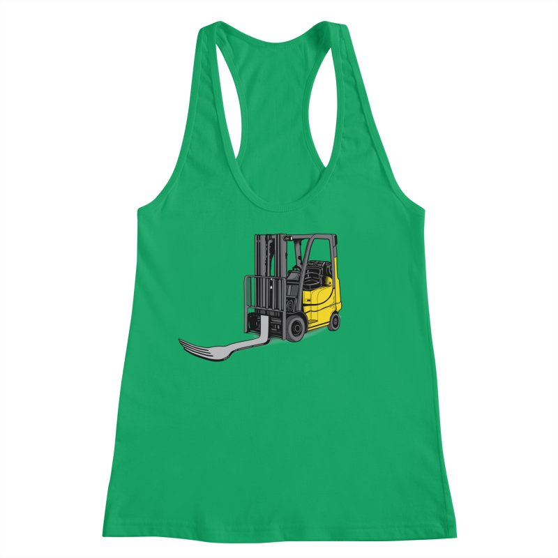 Forklift Women's Tank by 9th Mountain Threads