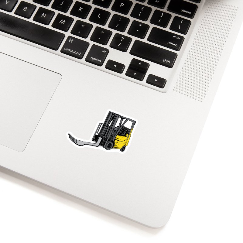 Forklift Accessories Sticker by 9th Mountain Threads