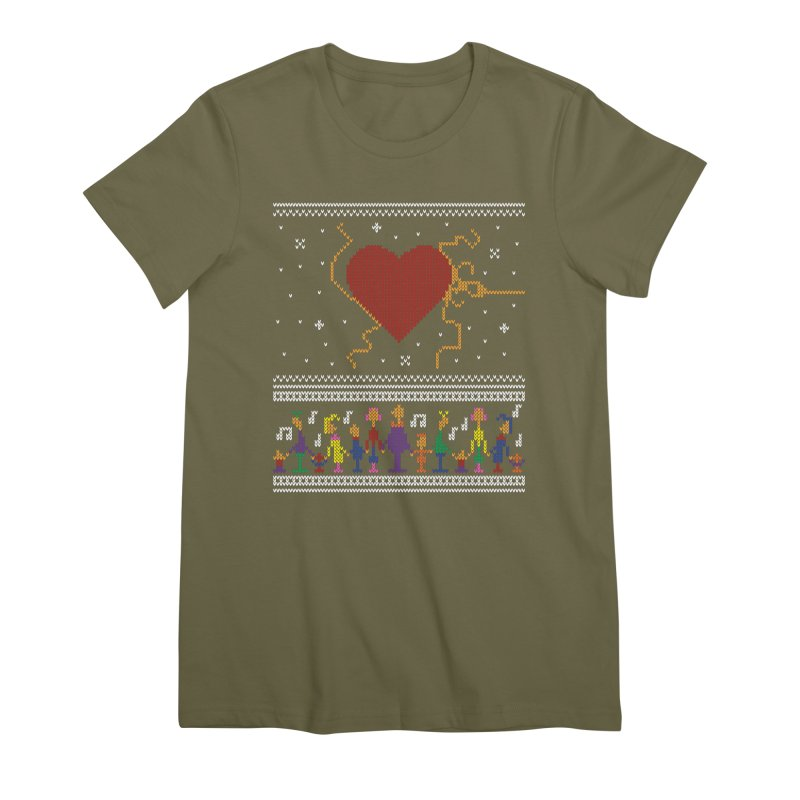 3 Sizes! Women's Premium T-Shirt by 9th Mountain Threads