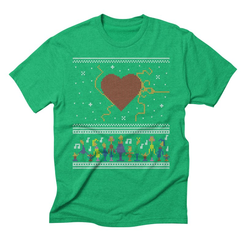 3 Sizes! Men's Triblend T-Shirt by 9th Mountain Threads