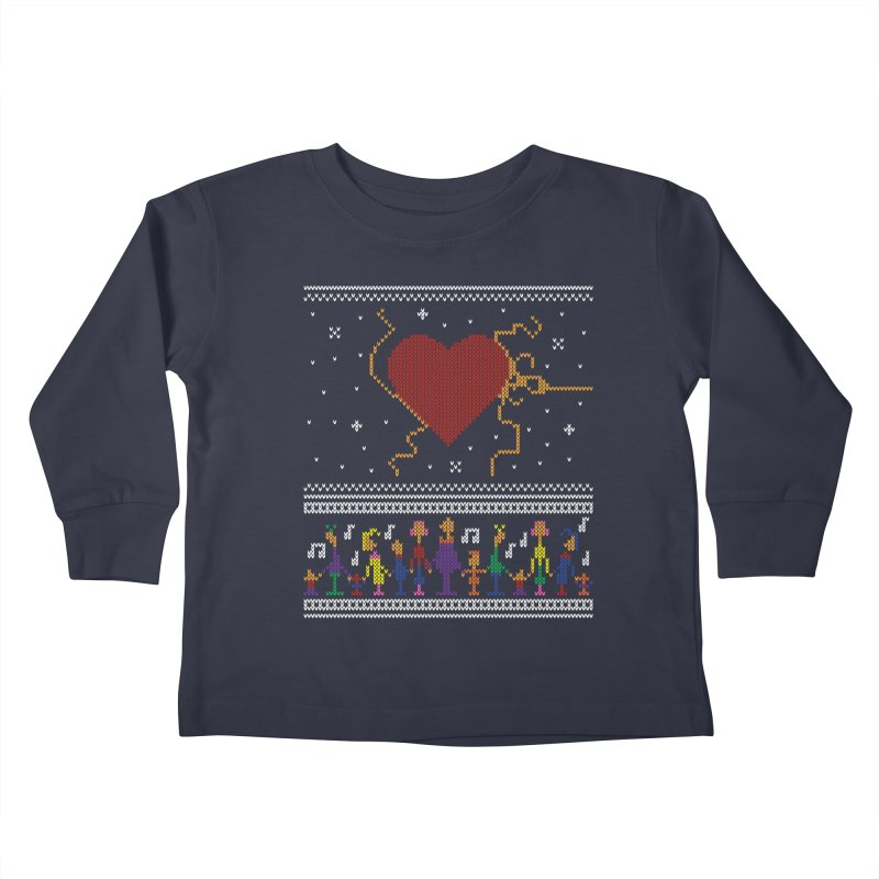 3 Sizes! Kids Toddler Longsleeve T-Shirt by 9th Mountain Threads