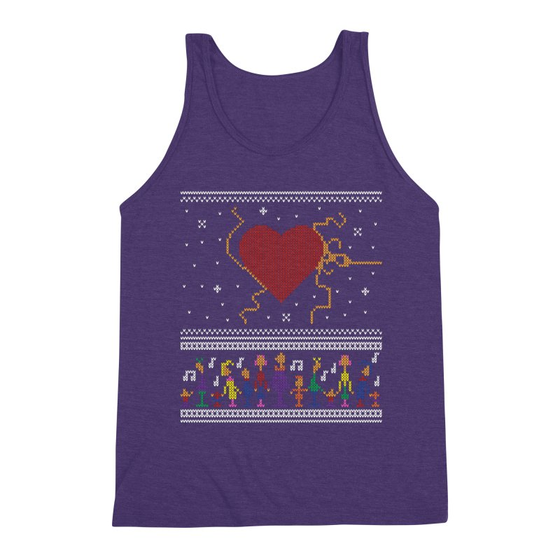 3 Sizes! Men's Triblend Tank by 9th Mountain Threads