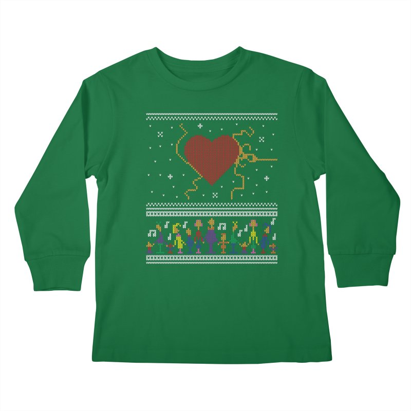 3 Sizes! Kids Longsleeve T-Shirt by 9th Mountain Threads