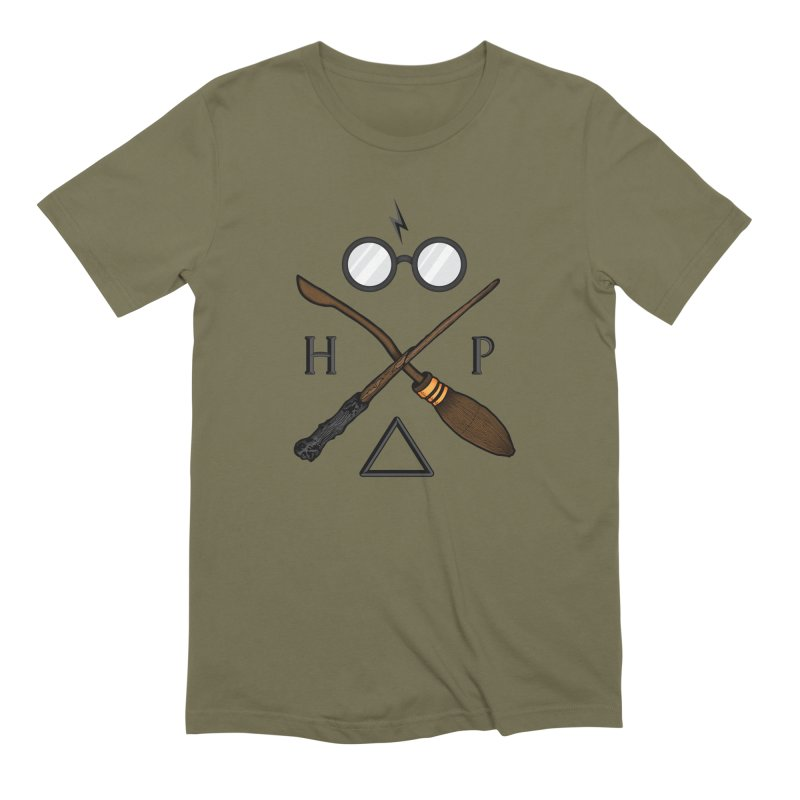 Potter Men's Extra Soft T-Shirt by 9th Mountain Threads