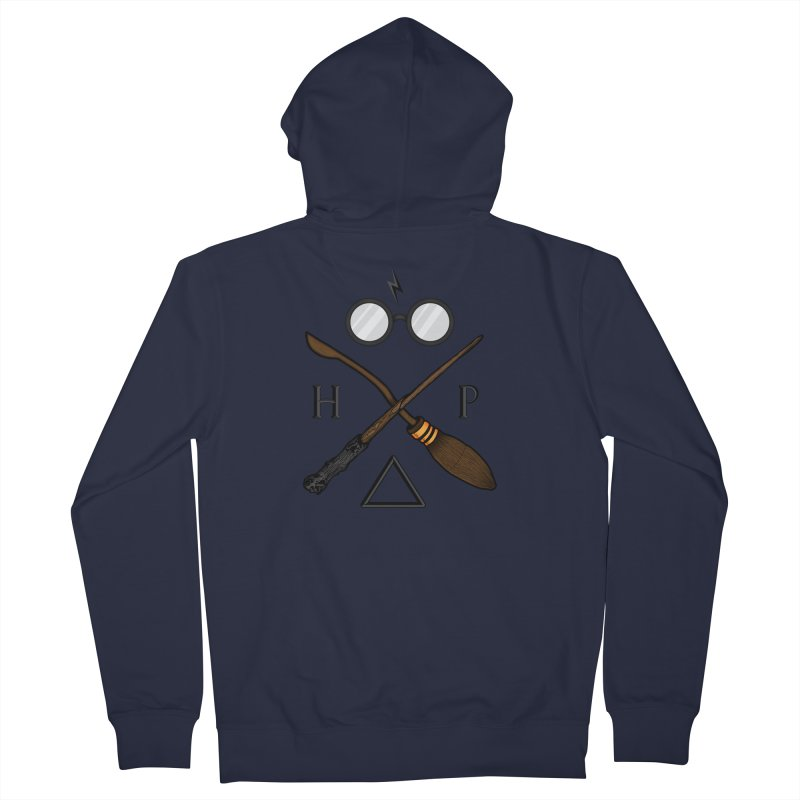 Potter Men's French Terry Zip-Up Hoody by 9th Mountain Threads