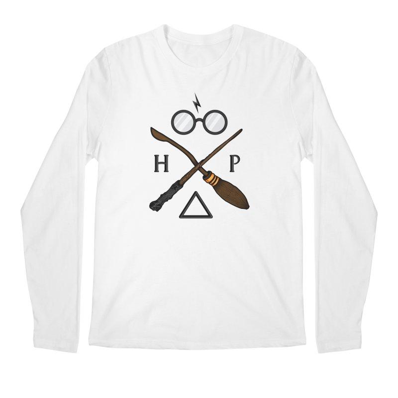 Potter Men's Regular Longsleeve T-Shirt by 9th Mountain Threads