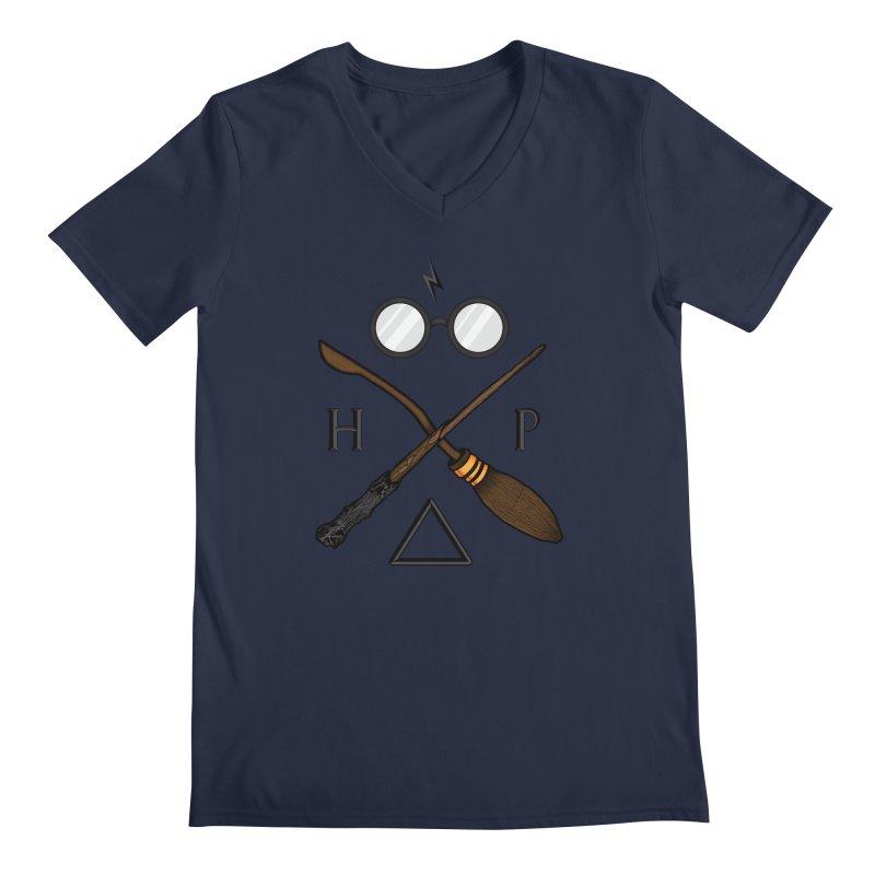 Potter Men's Regular V-Neck by 9th Mountain Threads