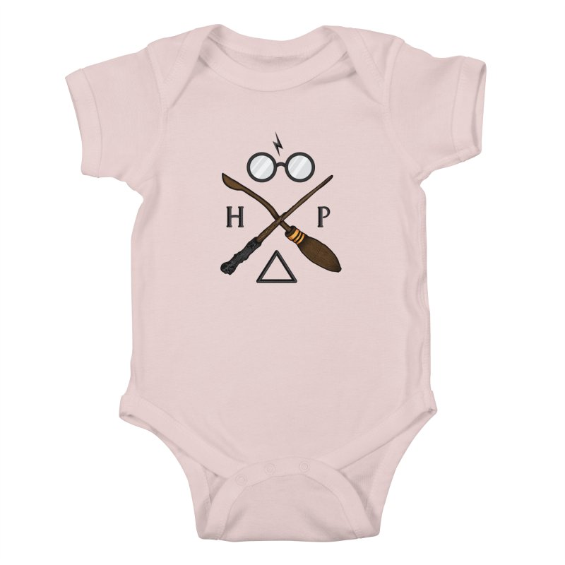Potter Kids Baby Bodysuit by 9th Mountain Threads