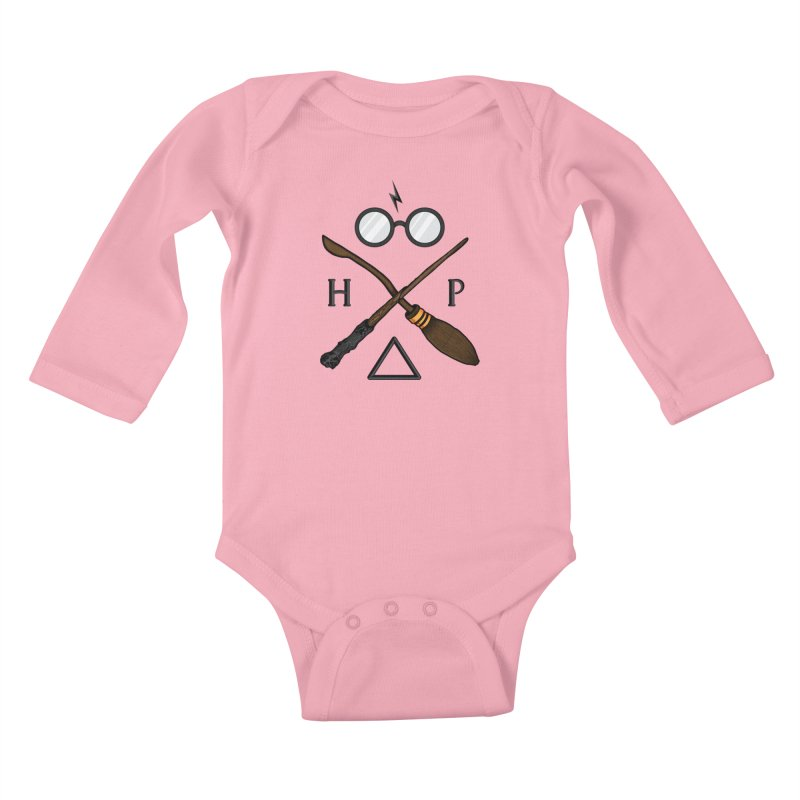 Potter Kids Baby Longsleeve Bodysuit by 9th Mountain Threads