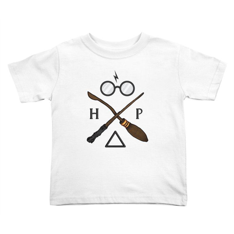 Potter Kids Toddler T-Shirt by 9th Mountain Threads