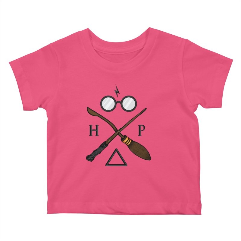 Potter Kids Baby T-Shirt by 9th Mountain Threads
