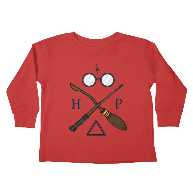 Potter Kids Toddler Longsleeve T-Shirt by 9th Mountain Threads