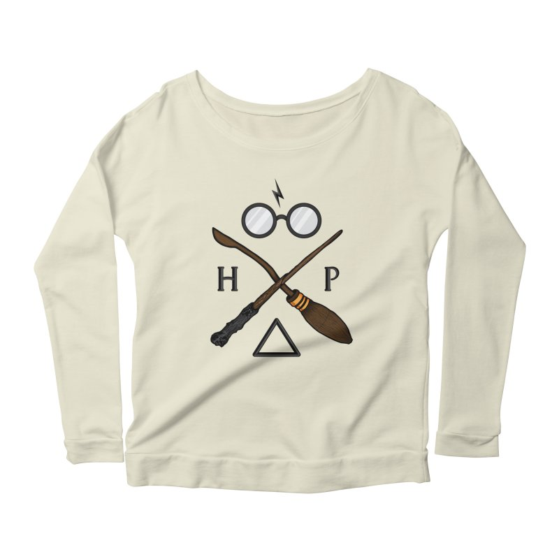 Potter Women's Scoop Neck Longsleeve T-Shirt by 9th Mountain Threads