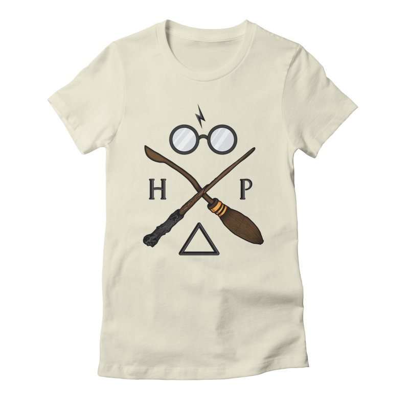 Potter Women's Fitted T-Shirt by 9th Mountain Threads