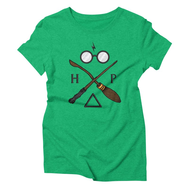 Potter Women's Triblend T-Shirt by 9th Mountain Threads
