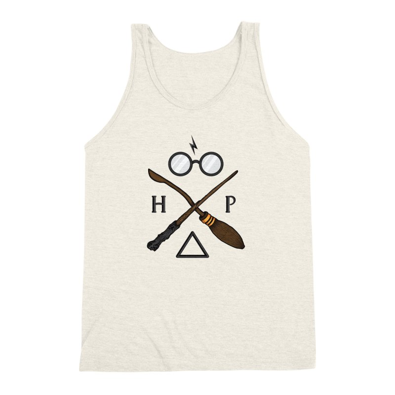 Potter Men's Triblend Tank by 9th Mountain Threads