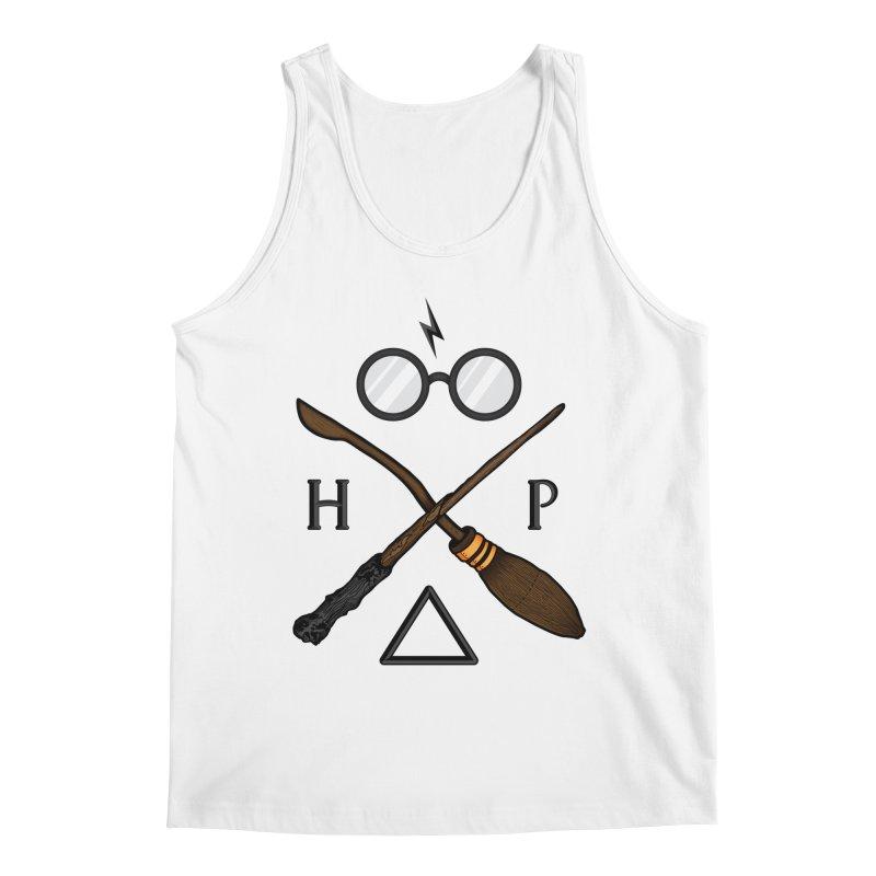Potter Men's Regular Tank by 9th Mountain Threads