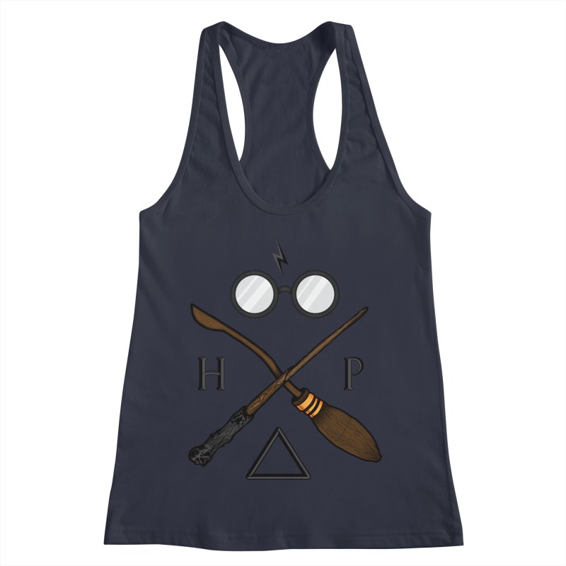 Potter Women's Racerback Tank by 9th Mountain Threads