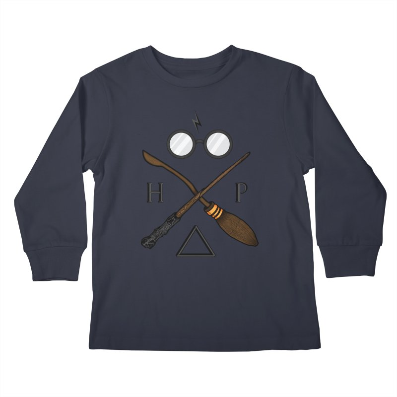 Potter Kids Longsleeve T-Shirt by 9th Mountain Threads