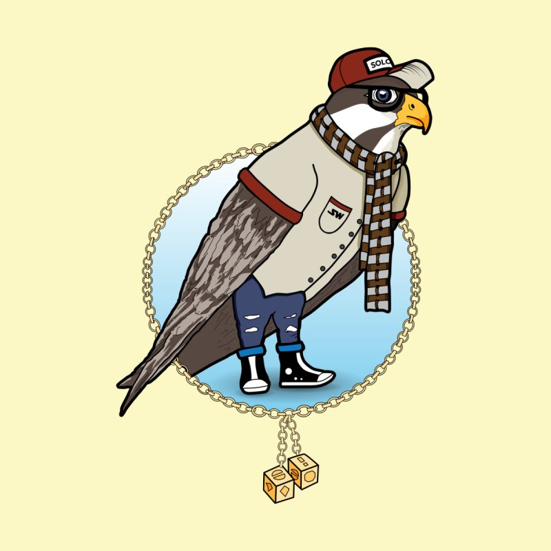 Millennial Falcon by 9th Mountain Threads