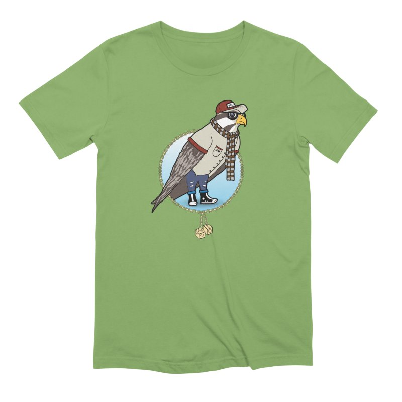 Millennial Falcon Men's Extra Soft T-Shirt by 9th Mountain Threads