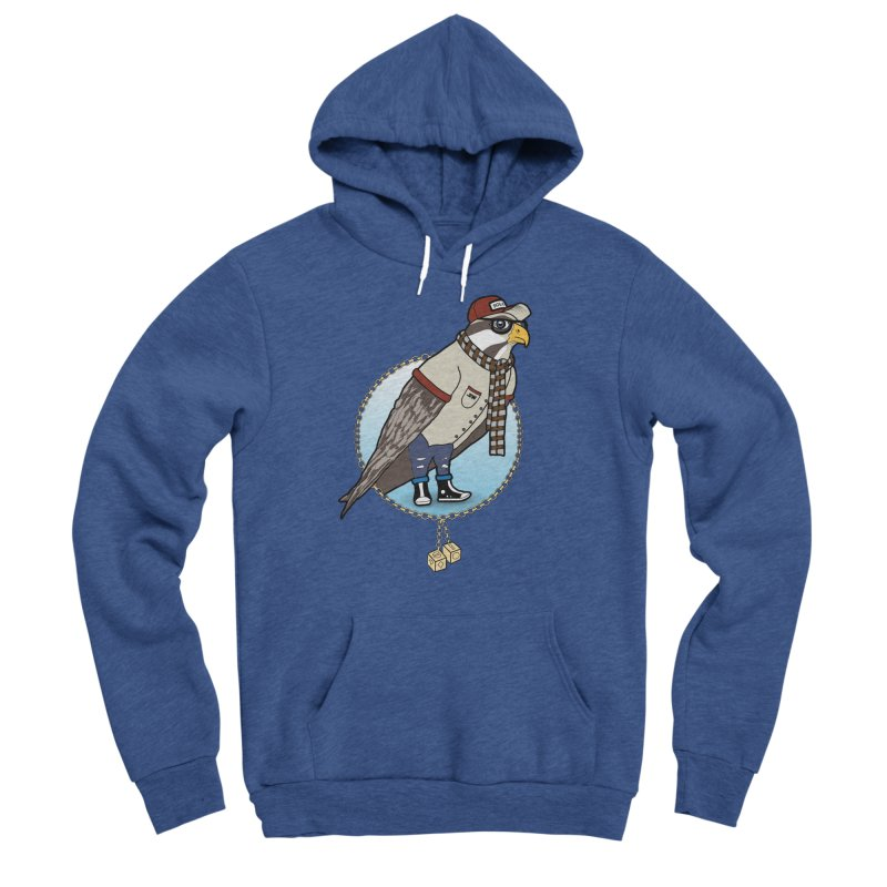 Millennial Falcon Men's Sponge Fleece Pullover Hoody by 9th Mountain Threads