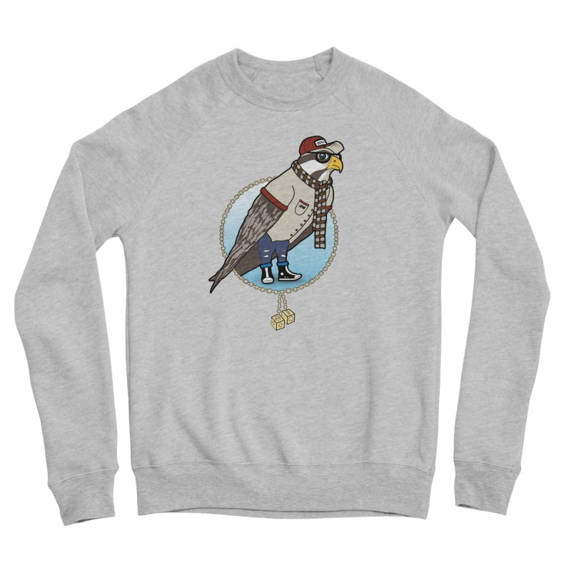 Millennial Falcon Women's Sponge Fleece Sweatshirt by 9th Mountain Threads