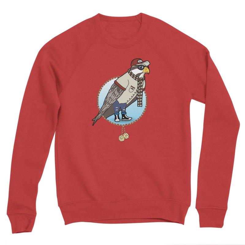 Millennial Falcon Women's Sponge Fleece Sweatshirt by 9th Mountain Threads