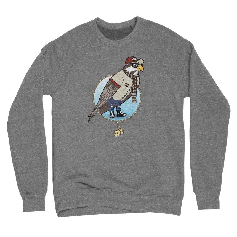 Millennial Falcon Men's Sponge Fleece Sweatshirt by 9th Mountain Threads