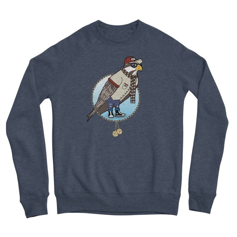 Millennial Falcon Men's Sponge Fleece Sweatshirt by 9th Mountain Threads
