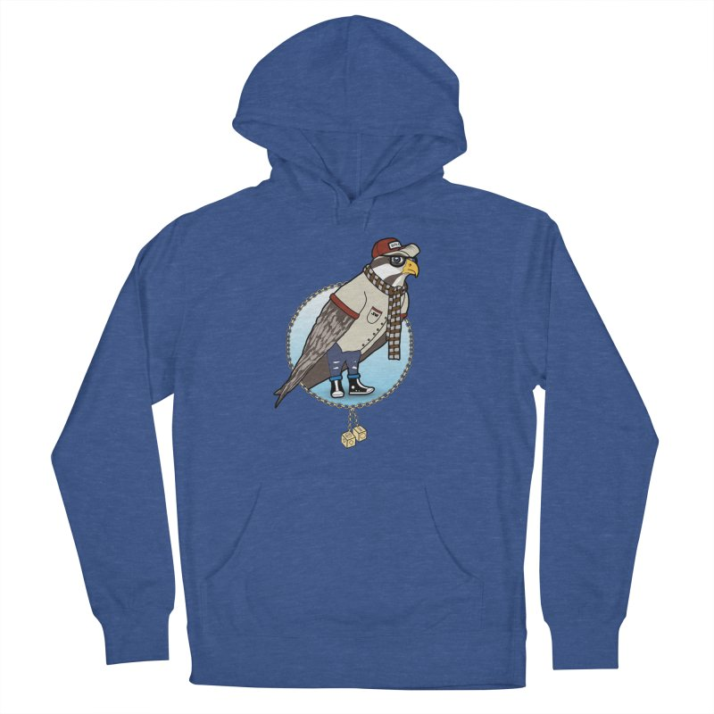 Millennial Falcon Women's French Terry Pullover Hoody by 9th Mountain Threads