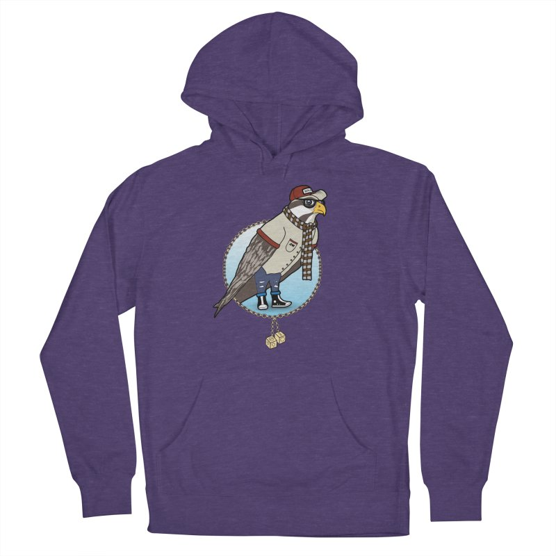Millennial Falcon Men's French Terry Pullover Hoody by 9th Mountain Threads
