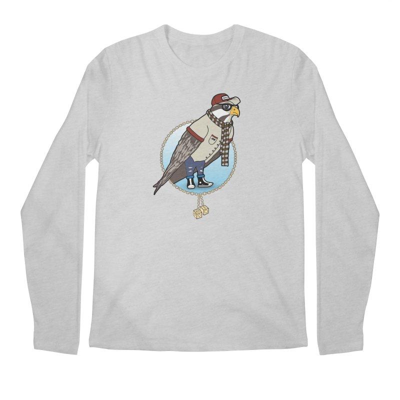Millennial Falcon Men's Regular Longsleeve T-Shirt by 9th Mountain Threads