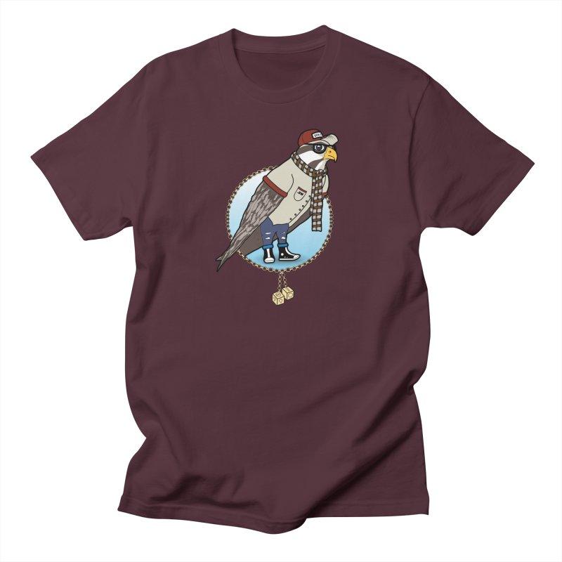 Millennial Falcon Men's Regular T-Shirt by 9th Mountain Threads