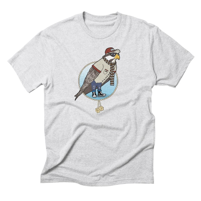 Millennial Falcon Men's Triblend T-Shirt by 9th Mountain Threads