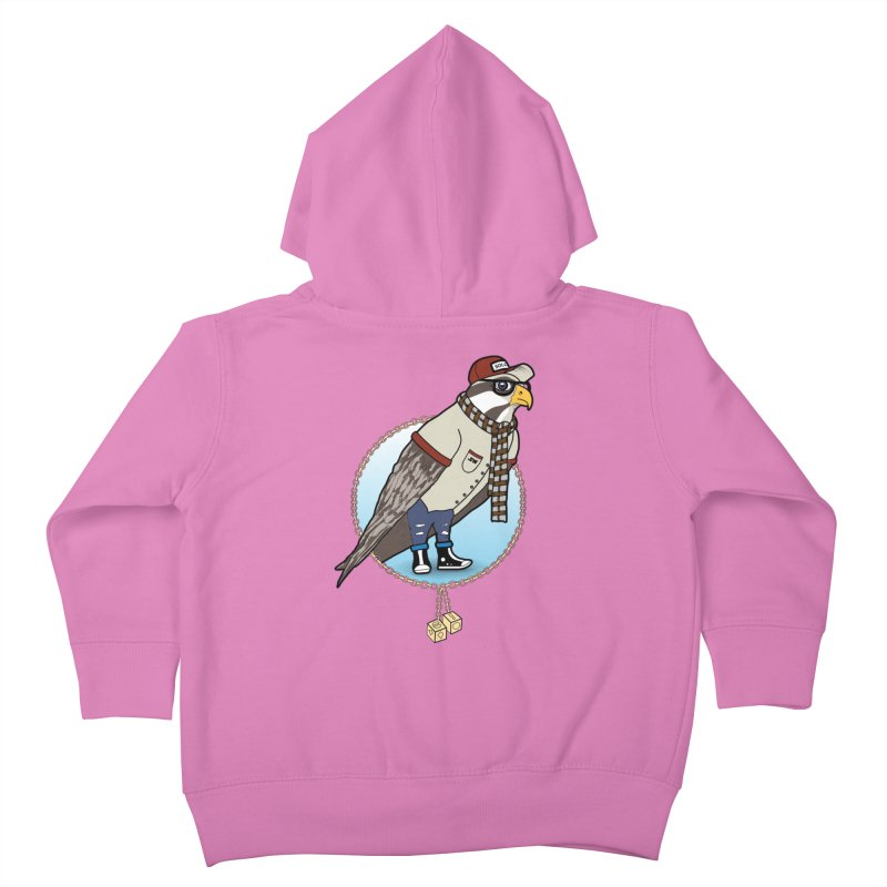 Millennial Falcon Kids Toddler Zip-Up Hoody by 9th Mountain Threads