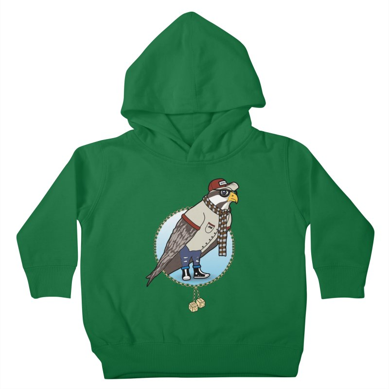 Millennial Falcon Kids Toddler Pullover Hoody by 9th Mountain Threads