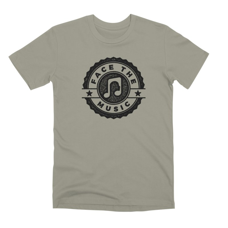 Face the Music Men's Premium T-Shirt by 9th Mountain Threads