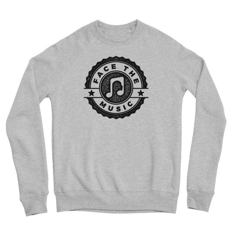 Face the Music Men's Sponge Fleece Sweatshirt by 9th Mountain Threads