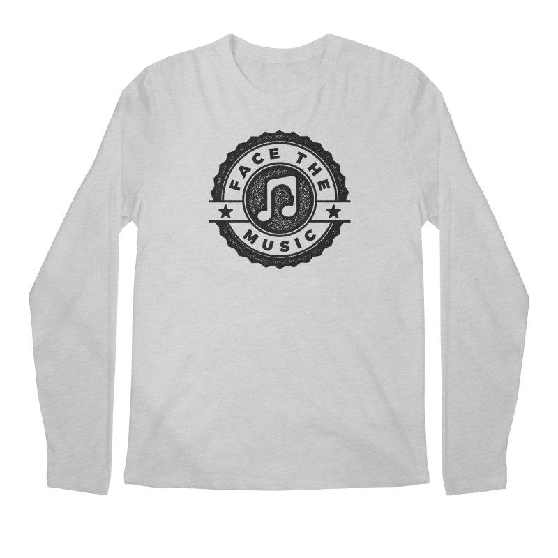 Face the Music Men's Regular Longsleeve T-Shirt by 9th Mountain Threads