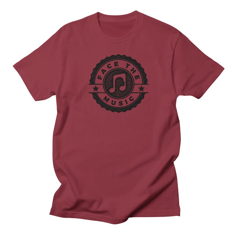 Face the Music Women's Regular Unisex T-Shirt by 9th Mountain Threads