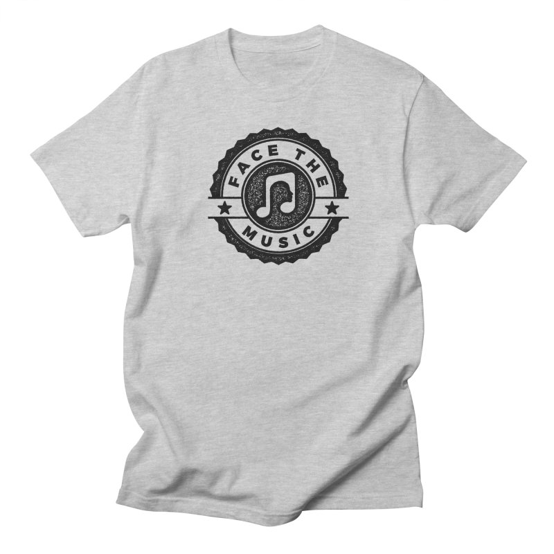 Face the Music Men's Regular T-Shirt by 9th Mountain Threads